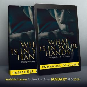 What is in your hands?